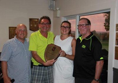Christian Doiron, Michel, Sonia (fille de Michel) et Craig Miller (CSLBC)
